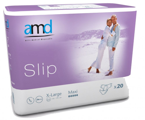 AMD Slip X Large Maxi  - All-in-one pads Pack of 20